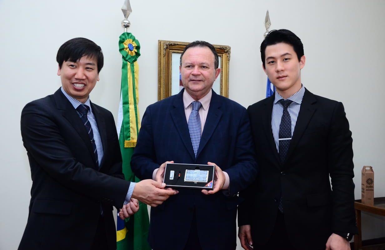 Brandão e investidores sul-coreanos discutem novos negócios no Maranhão