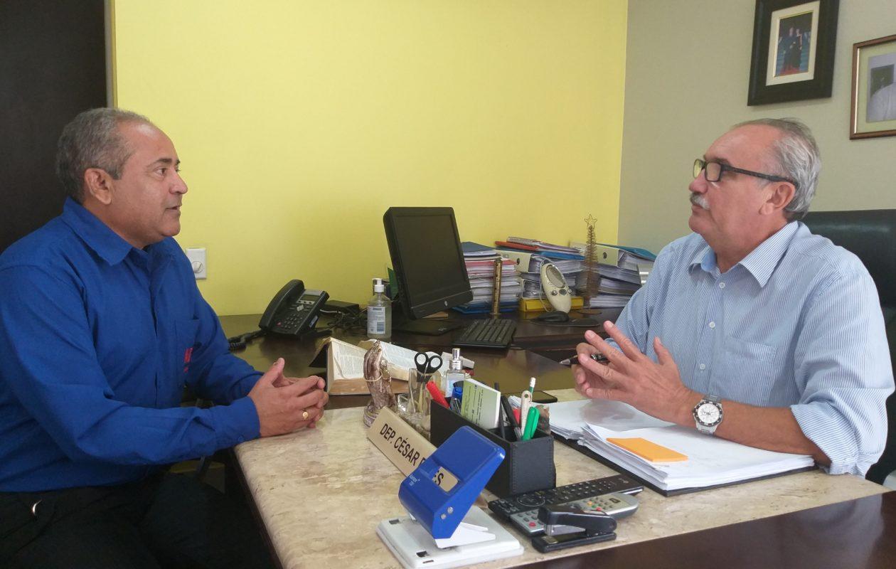 César Pires vai propor Frente Parlamentar em defesa de hipertensos e diabéticos