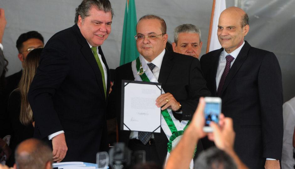 Sarney Filho toma posse como secretário de Meio Ambiente do DF