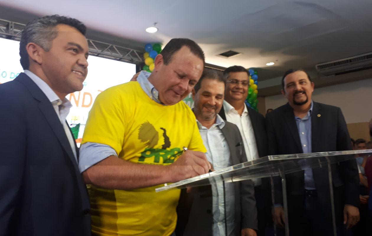 Brandão silencia sobre suspeita de candidatura laranja do PRB