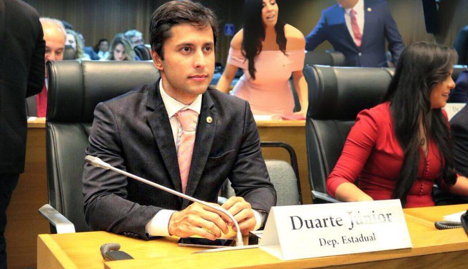 Em estreia na Alema, Duarte Júnior desconstrói o próprio discurso anticorrupção