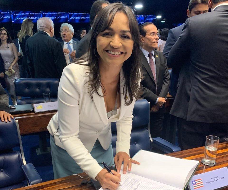 Empossada, Eliziane promete frente feminina pelo Maranhão