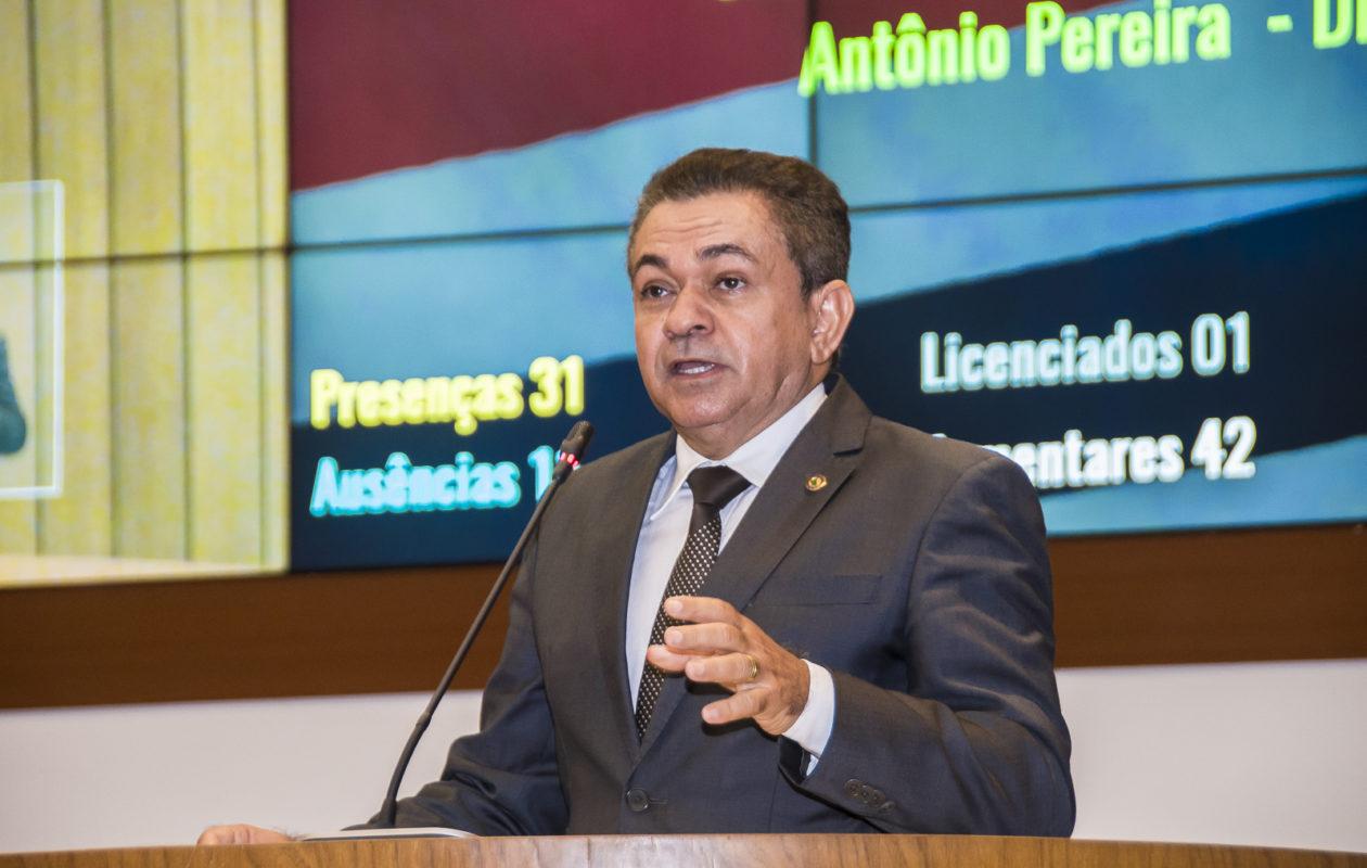 Antônio Pereira tenta reverter decisão que desaprovou suas contas de campanha