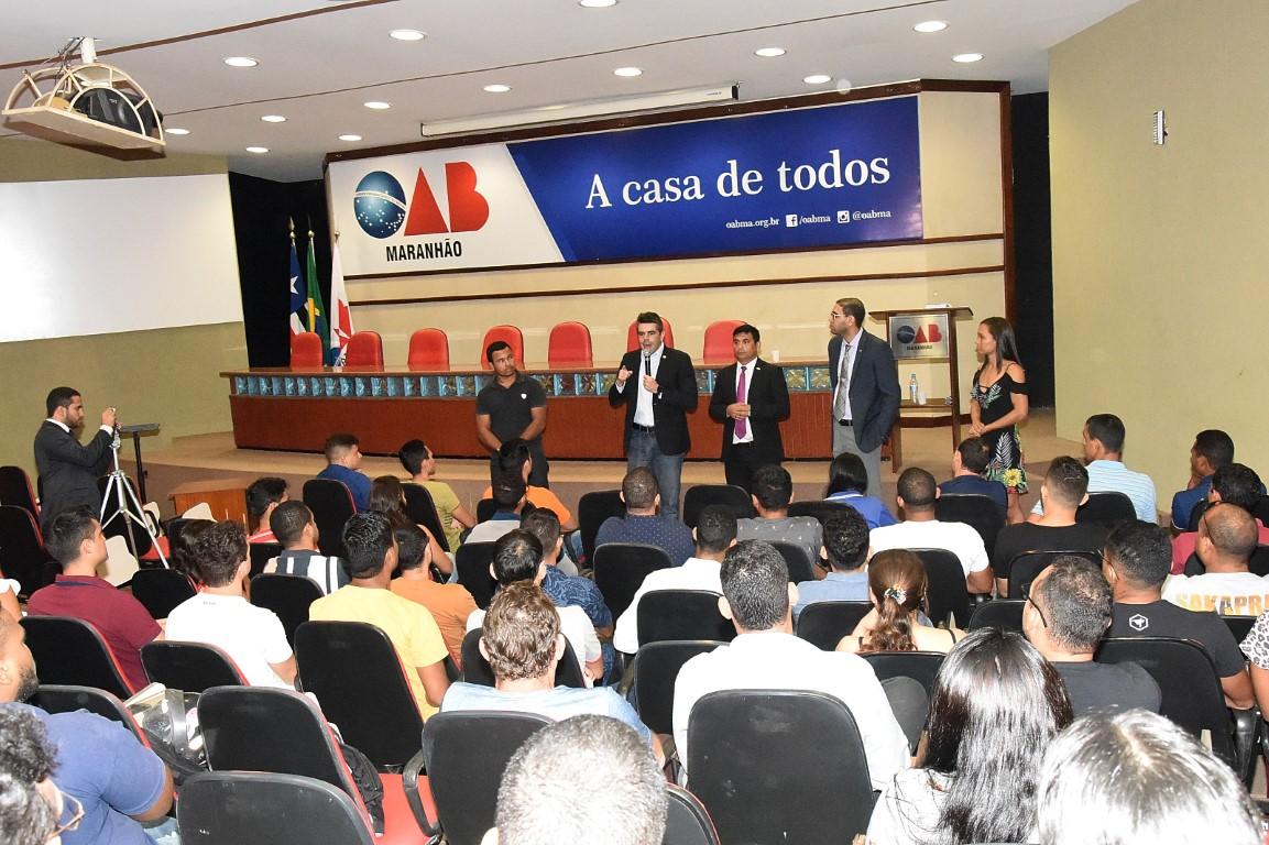Adriano, Wellington e OAB-MA discutem situação dos concursados da PM
