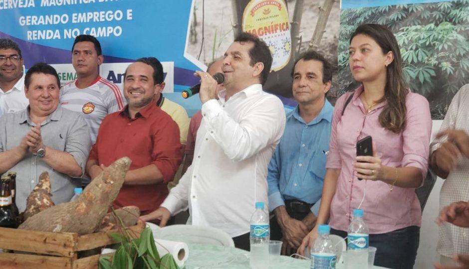 Prefeitura de Santa Rita exporta 29 t de mandioca para produção de cerveja