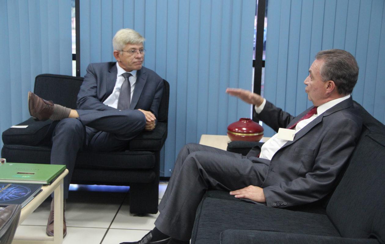 Luis Fernando busca parceria para conclusão do ZEE do Maranhão