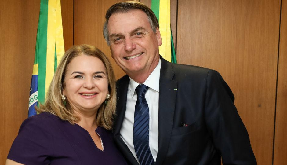 Bolsonaro coloca Maura Jorge no comando da Funasa do Maranhão