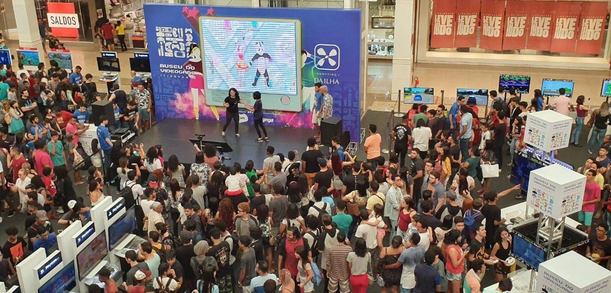 Últimos dias do  Museu do Videogame Itinerante em São Luís