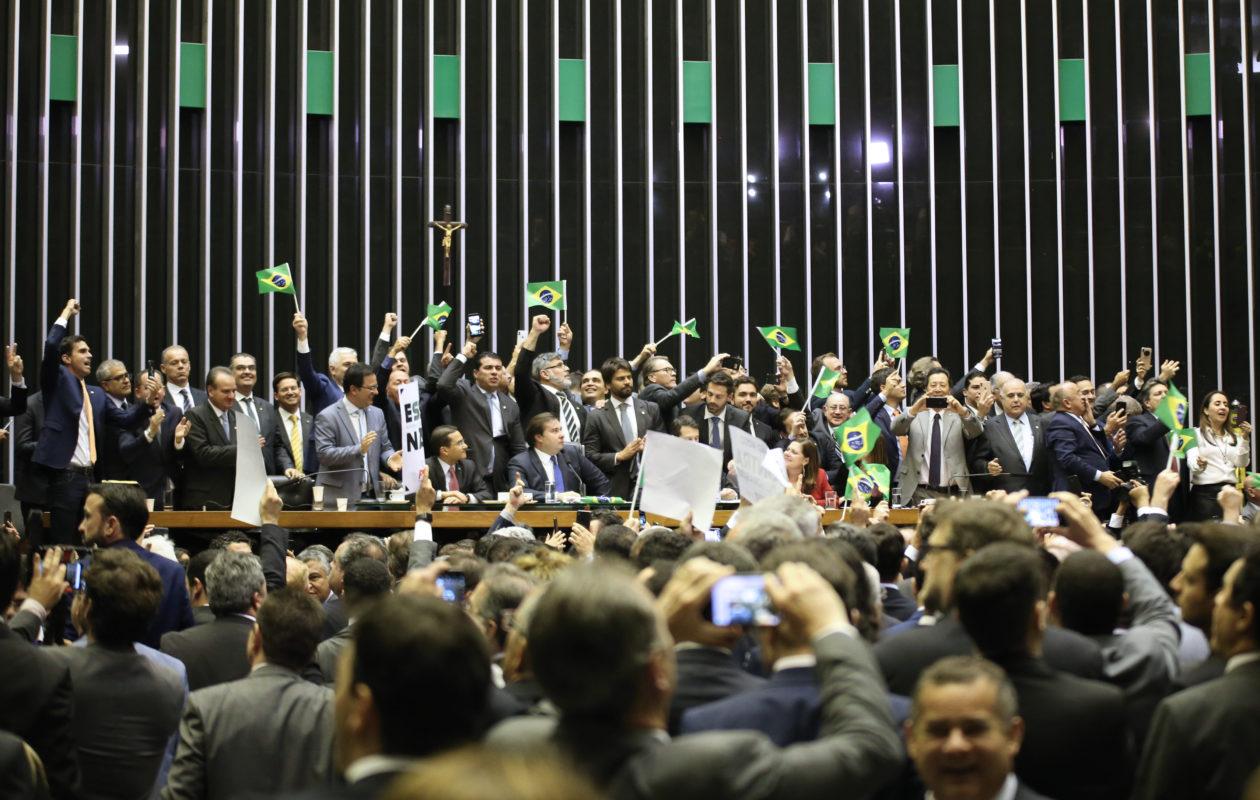 Texto-base da reforma da Previdência é aprovado em 1º turno na Câmara