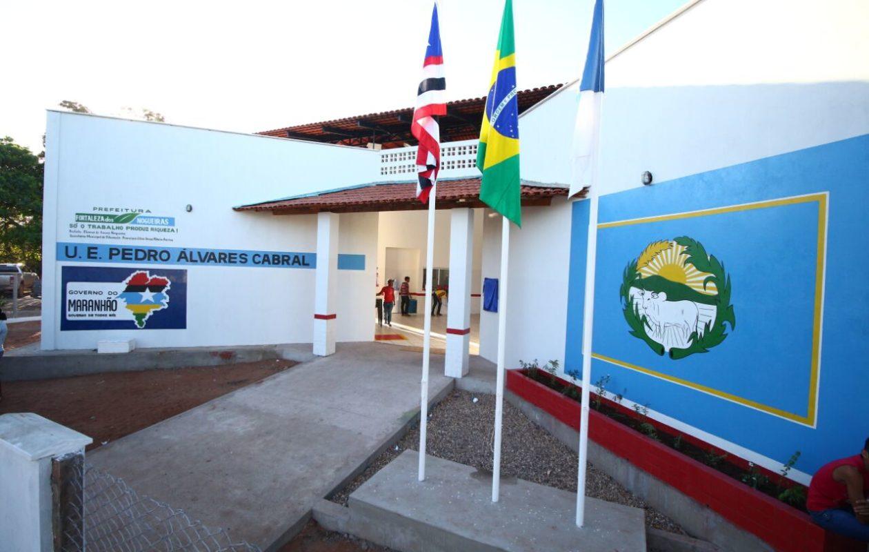 Inauguração de primeira Escola Digna por Flávio Dino completa três anos