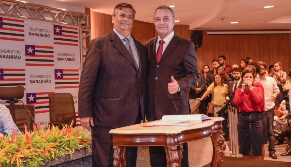 Empresa de filhos de Luis Fernando fecha contrato com o governo Dino