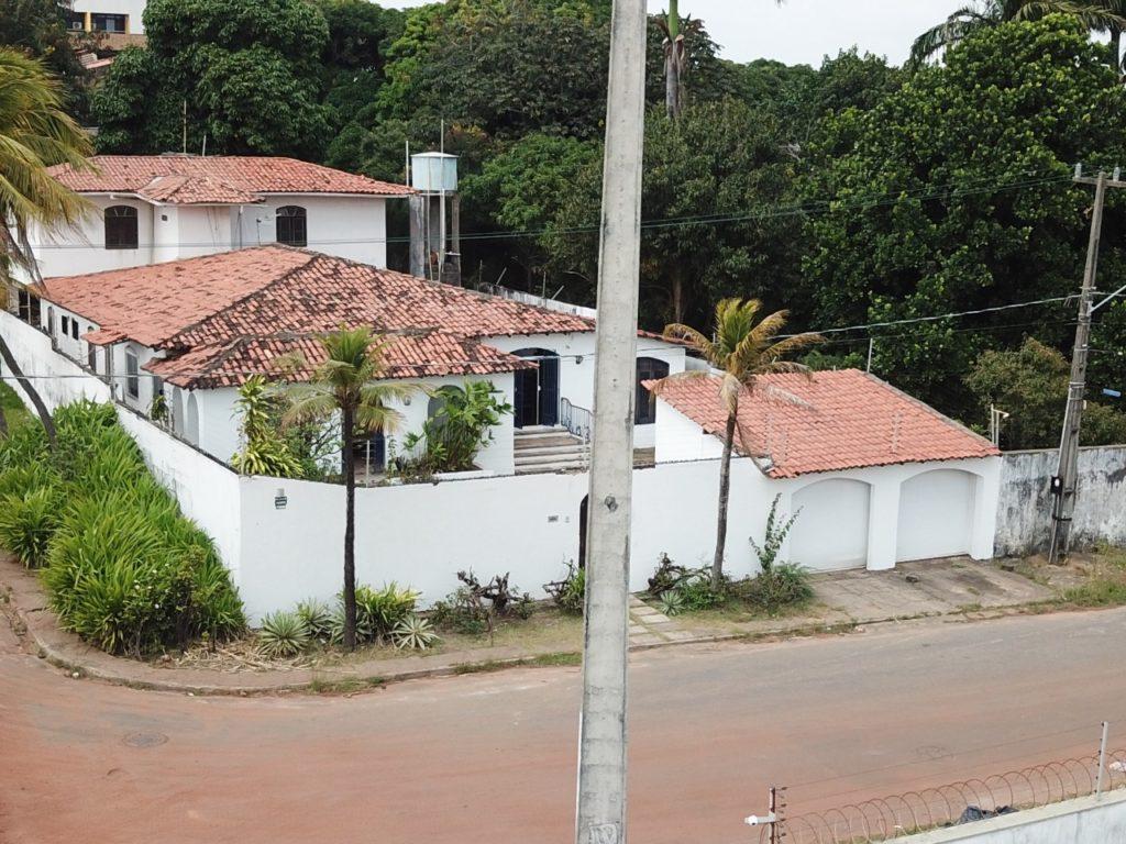 Imagem aérea da mansão do desembargador Jamil Gedeon local pela SES. Foto: Folha do Maranhão