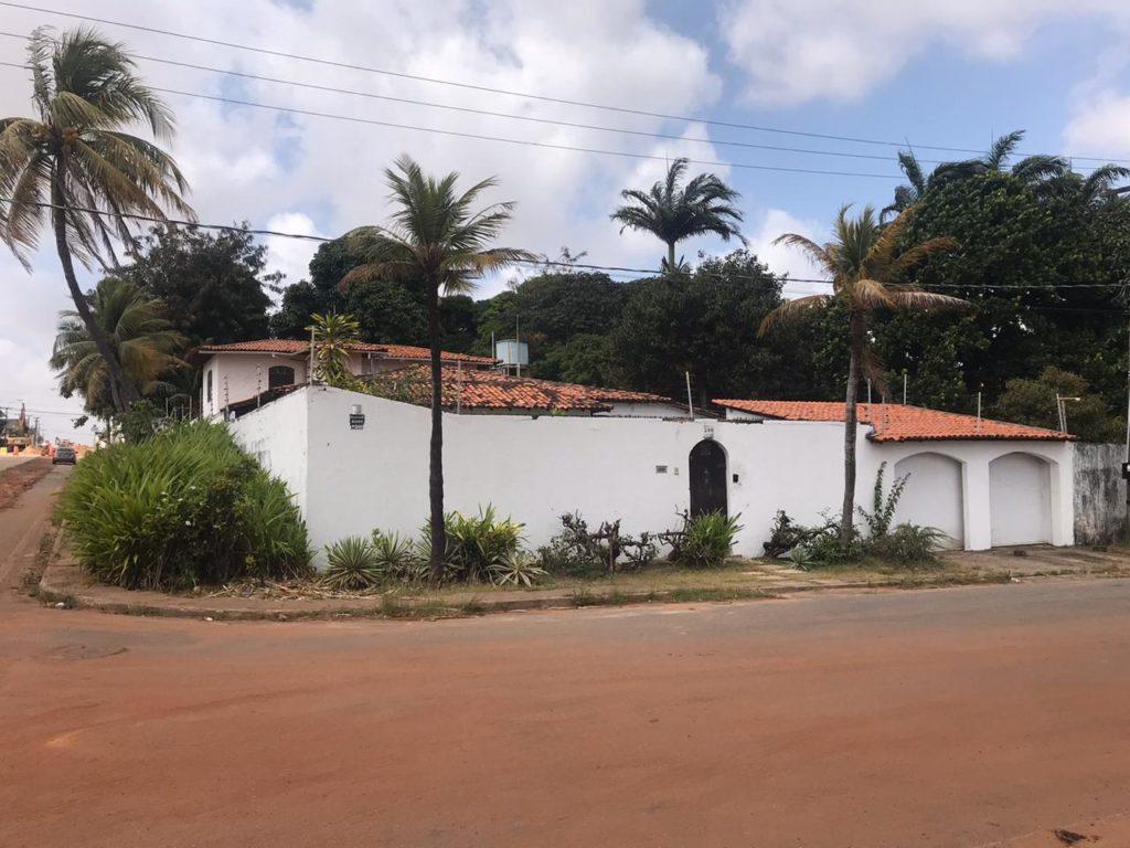 Imagem aérea da mansão do desembargador Jamil Gedeon locada pela SES. Foto: Folha do Maranhão