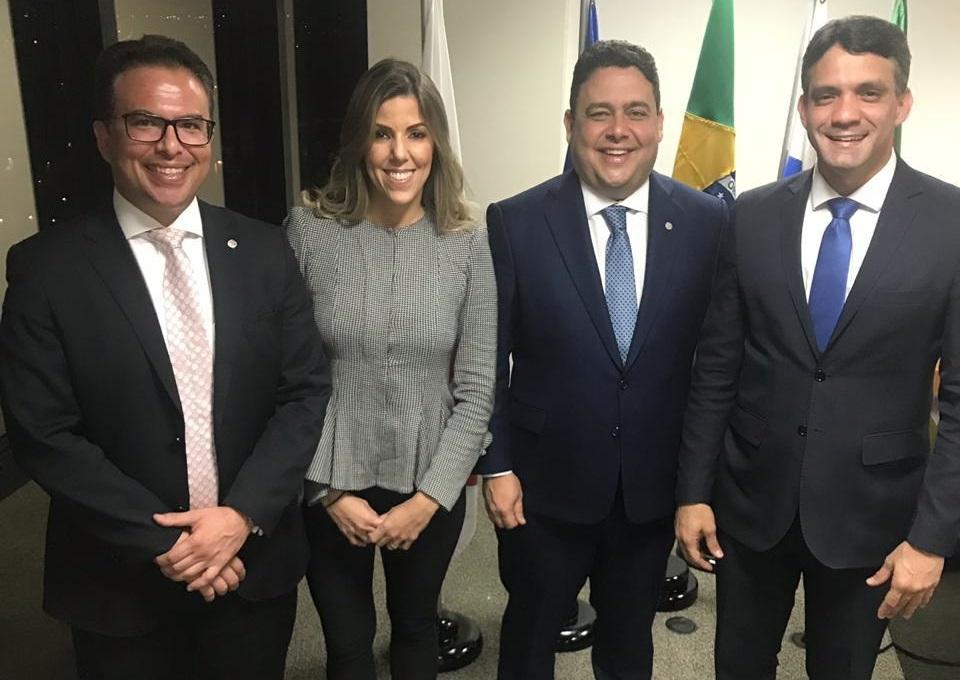 Anna Graziella toma posse na comissão especial de Direito Eleitoral da OAB