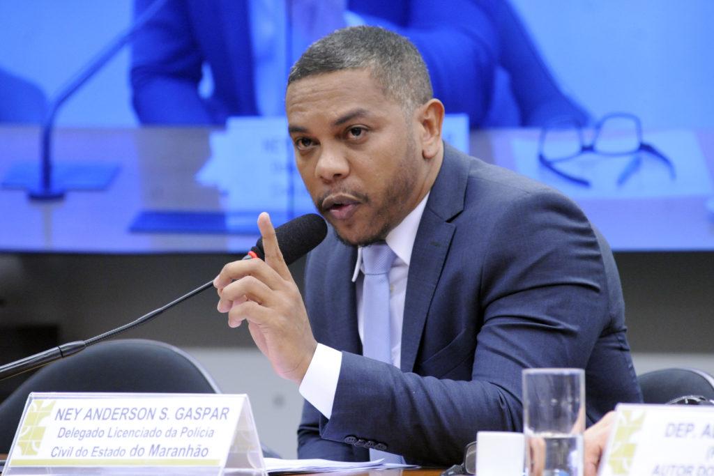 (02/07/2019 - Brasília-DF) Ney Anderson, durante oitiva em audiência pública na Câmara dos Deputados sobre o escândalo de espionagem no Maranhão. Foto: Cleia Viana/Câmara dos Deputados