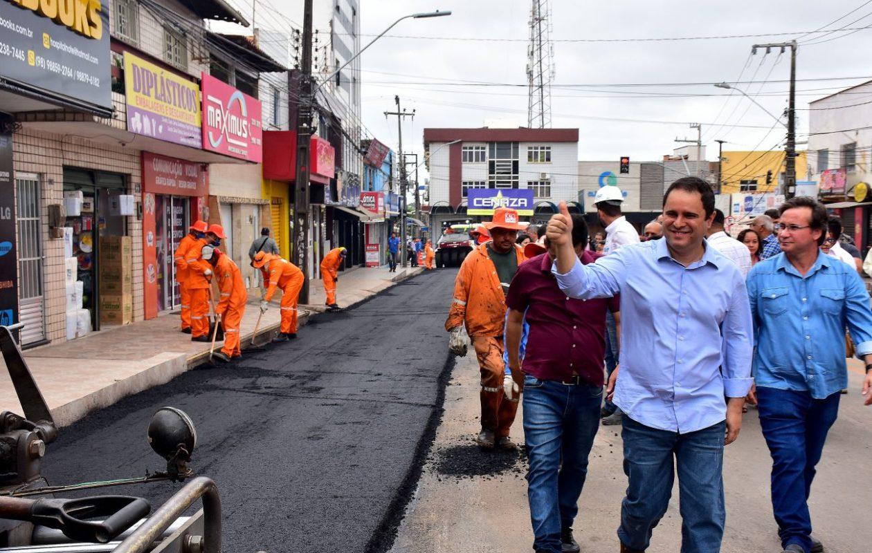 Edivaldo aposta em asfalto em ano pré-eleitoral para garantir sucessor