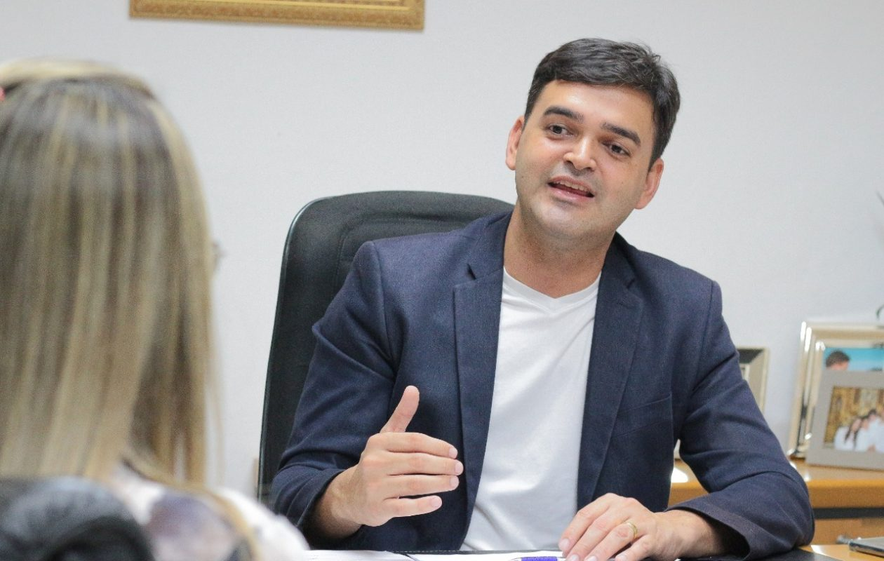 """""""Ainda sequer me declarei pré-candidato"""", diz Rubens Júnior sobre 1% na Escutec"""