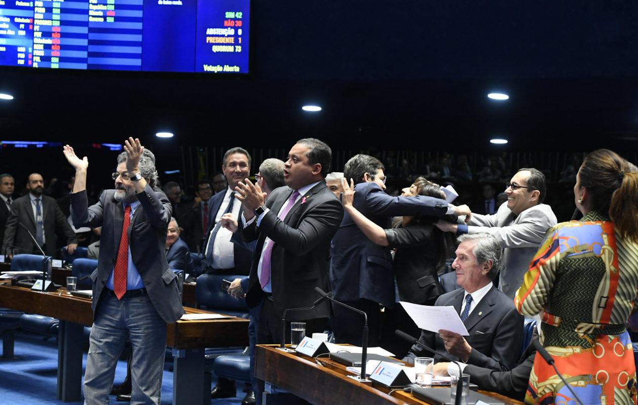 Veja como os senadores do Maranhão votaram na reforma da Previdência