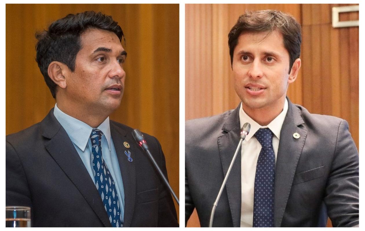 Wellington e Duarte permanecem em agenda intensa e ignoram dificuldades no PSDB e PCdoB
