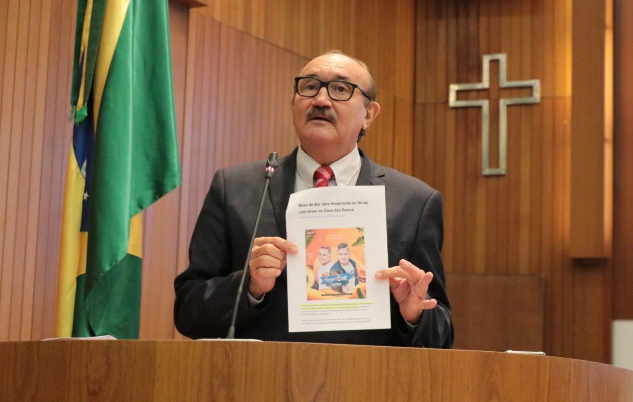 César Pires cobra explicações do governo Dino sobre recursos do FEPA