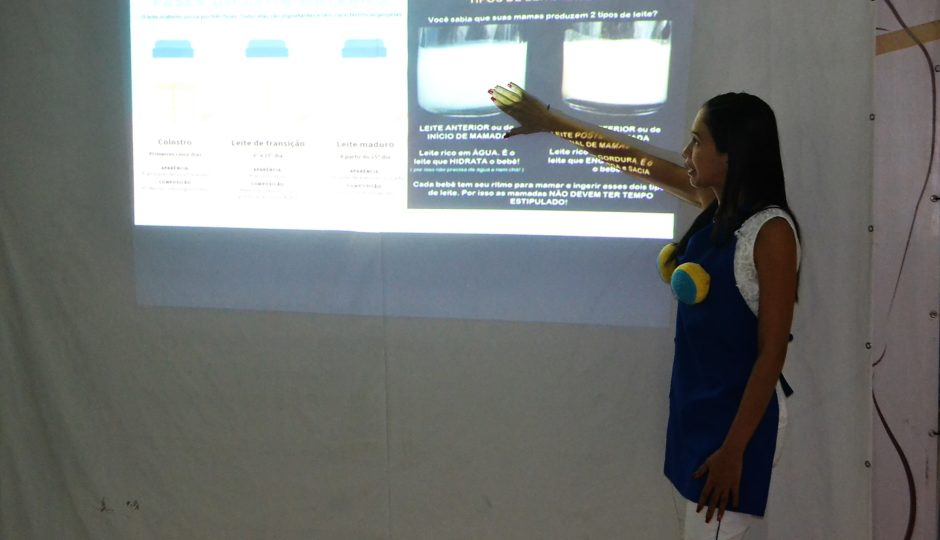 Maternidade Benedito Leite promove palestra sobre aperfeiçoamento do aleitamento materno