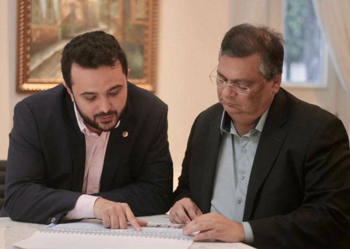 Aliado, Yglésio discute com Dino elaboração de plano de governo
