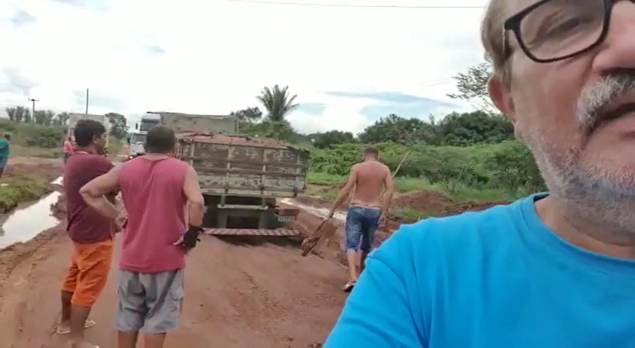 César Pires volta a cobrar de Flávio Dino recuperação da MA-020