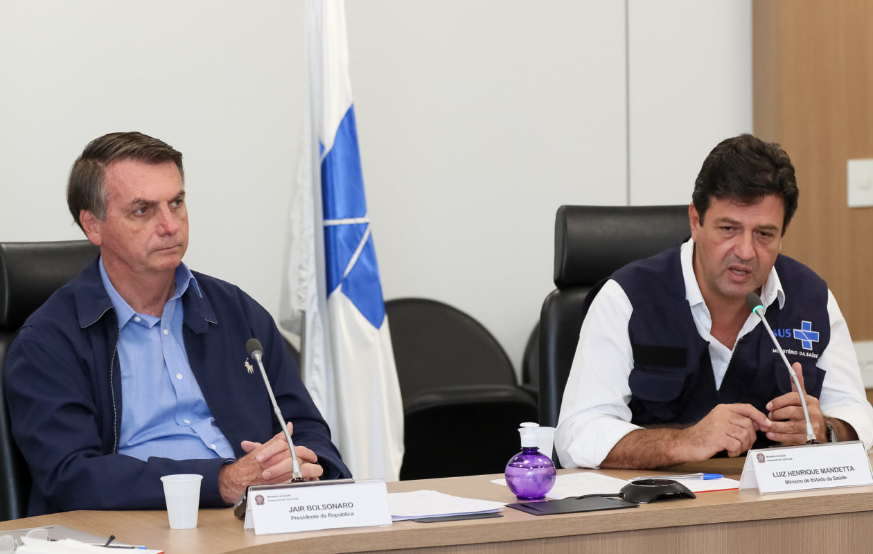 Bolsonaro demite Mandetta do Ministério da Saúde