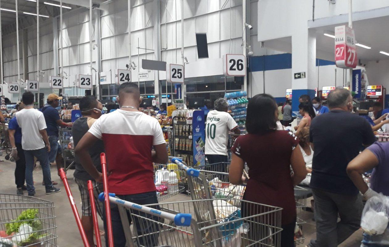 Governo do MA impõe medidas contra coronavírus para supermercados, mercados e quitandas