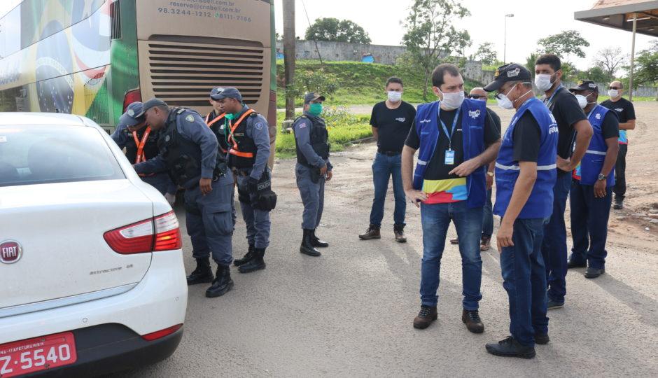 Governo do MA intensifica fiscalização na entrada e saída da Ilha de São Luís