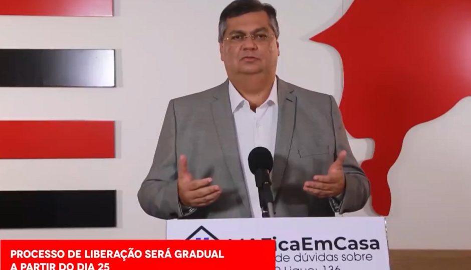 Dino ignora avanço do coronavírus e anuncia reabertura do comércio no Maranhão