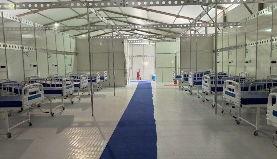 MA abre primeiro hospital de campanha para Covid-19, em Açailândia