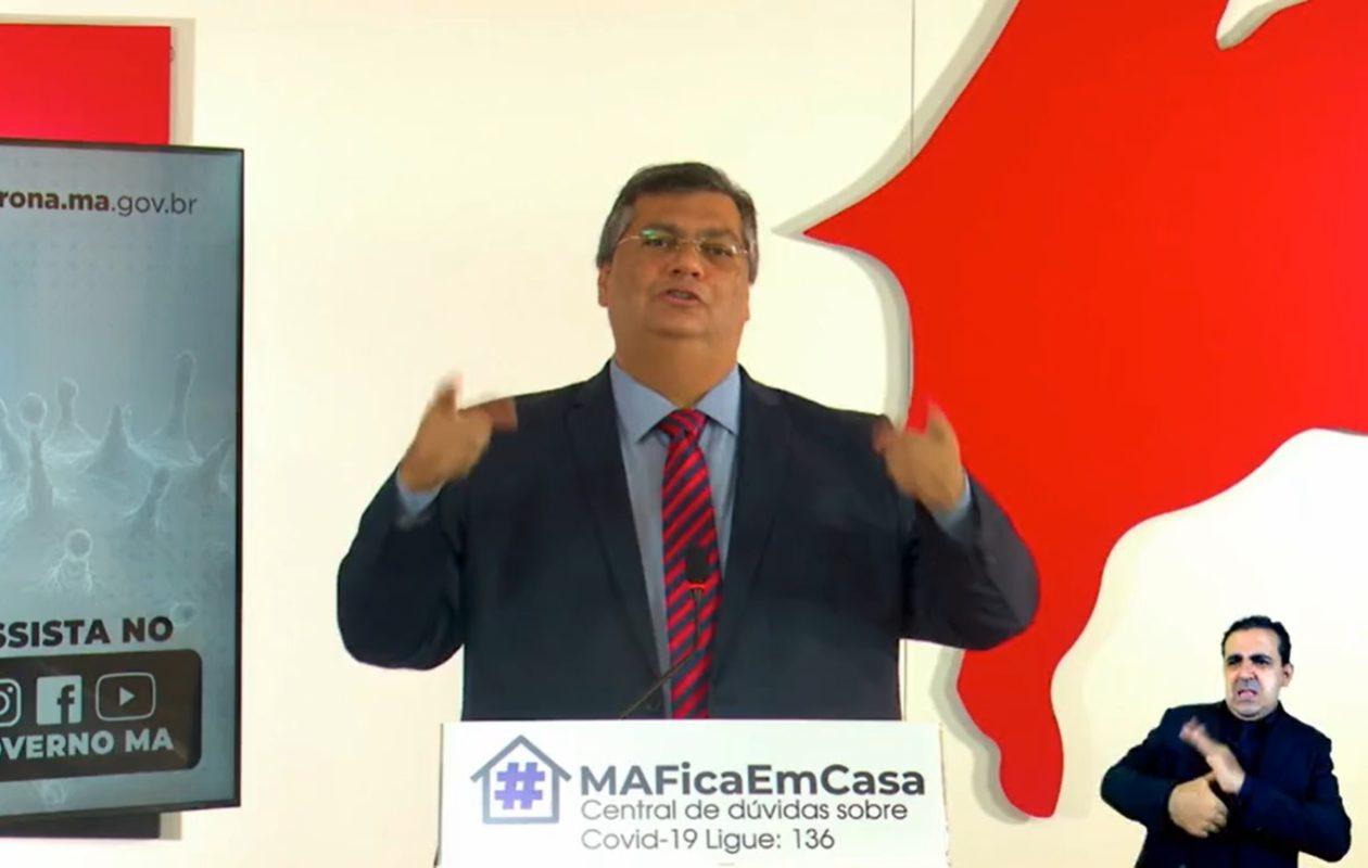 Sem provas, Dino sugere que prefeitos do MA estariam inflando óbitos por Covid-19