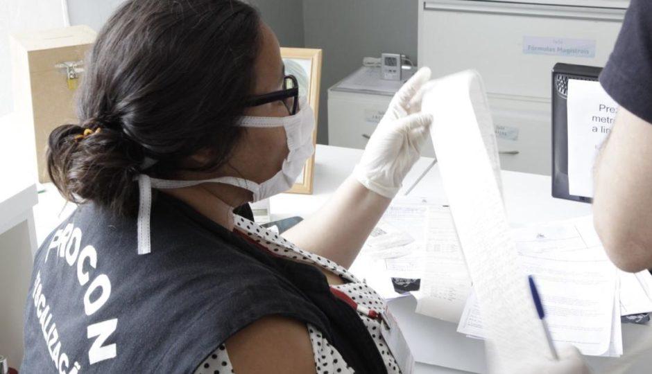 Covid-19: Procon e Sefaz apuram supostas irregularidades em farmácias de manipulação