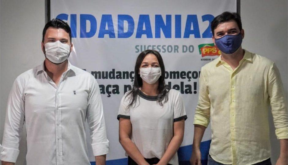 Rubens Júnior recebe apoio oficial do Cidadania, de Eliziane Gama
