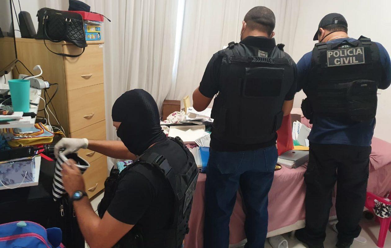 Polícia Civil faz buscas em endereços de Abdon Murad Júnior