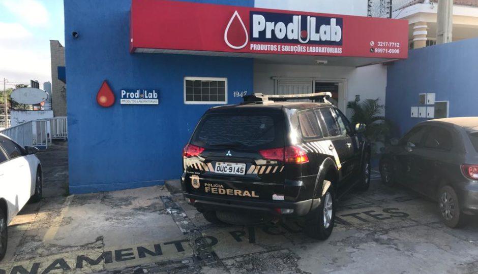 PF faz busca e apreensão no Piauí contra fraude na compra de testes para Covid-19