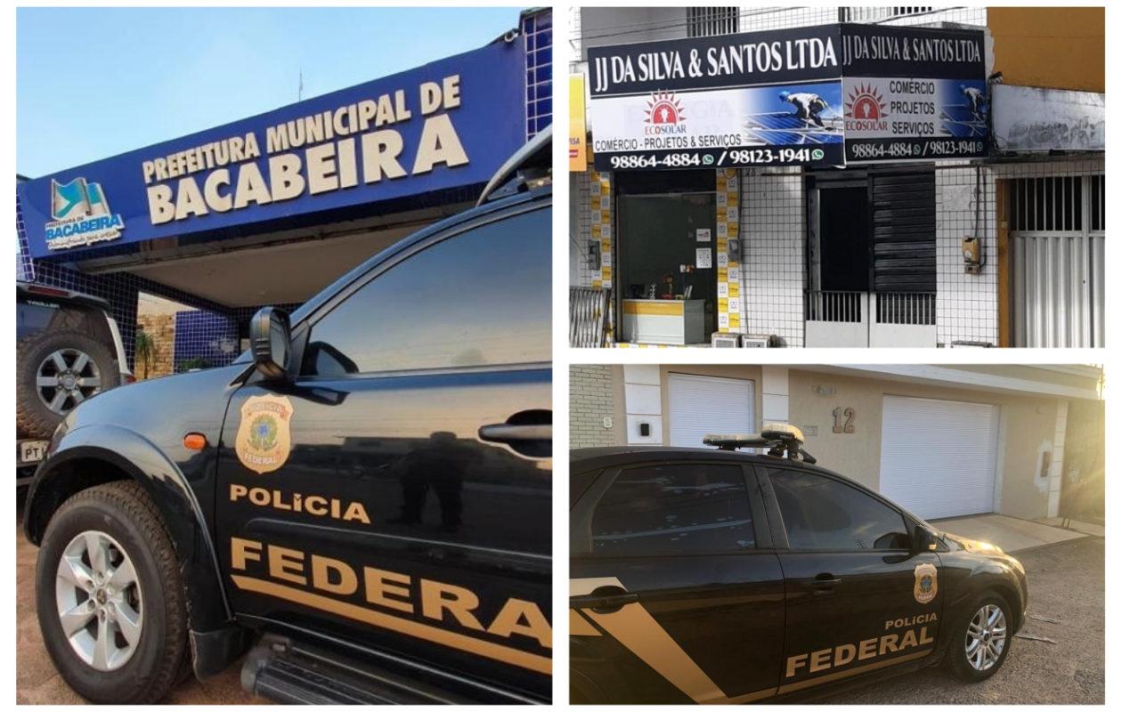 PF faz operação contra prefeituras de Bacabeira, Santa Rita e Miranda do Norte