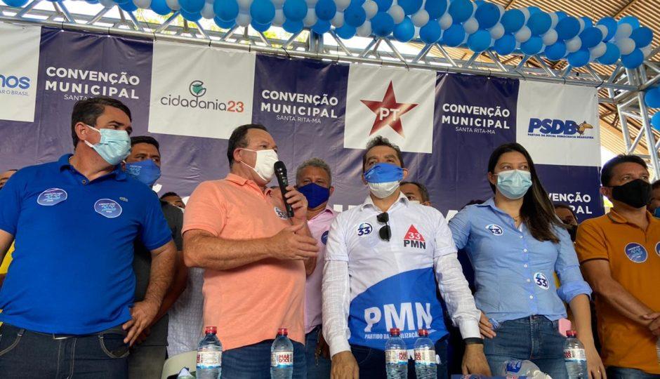 Hilton Gonçalo é oficializado candidato à reeleição em Santa Rita