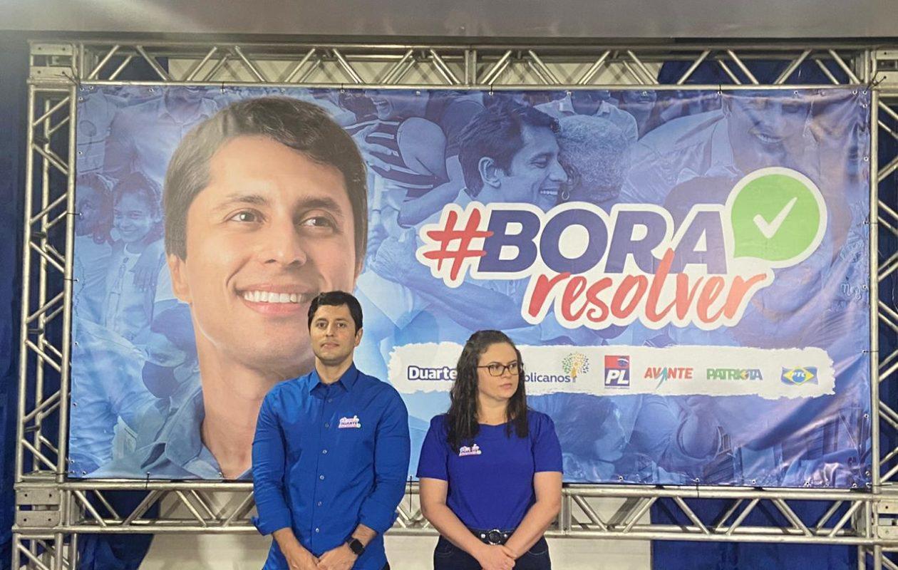 Após dizer ser contra filhotismo, Duarte Júnior acolhe sobrinha de Josimar na vice