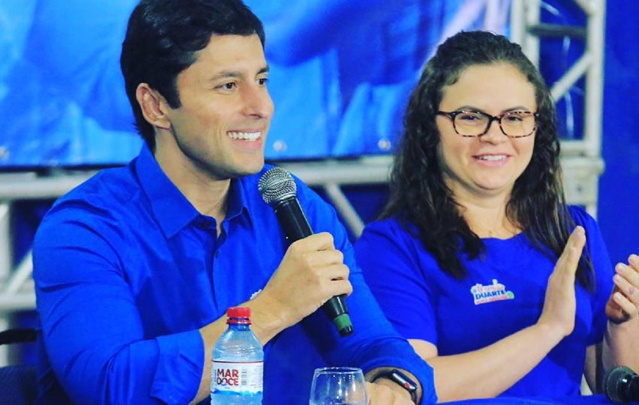 Duarte ataca imprensa por repercutir aceitação de sobrinha de Josimar na vice