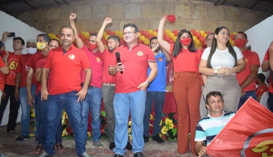 James Mendes é confirmado pelo PCdoB como candidato a prefeito em Anajatuba