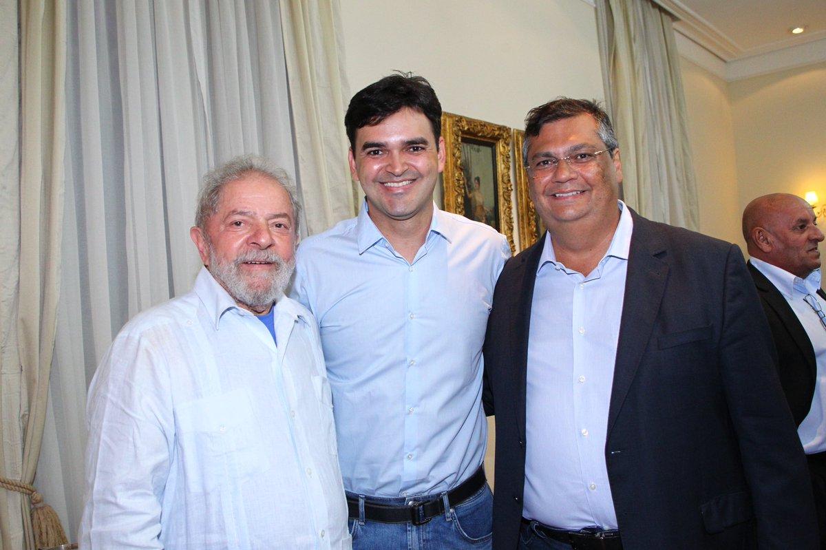 Ex-presidente Lula declara apoio a Rubens Pereira Júnior em São Luís