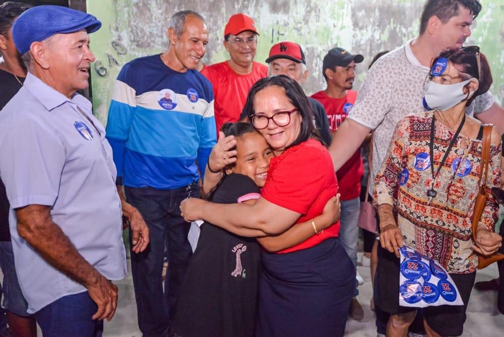Belezinha lidera em todos os cenários em Chapadinha, mostra Escutec