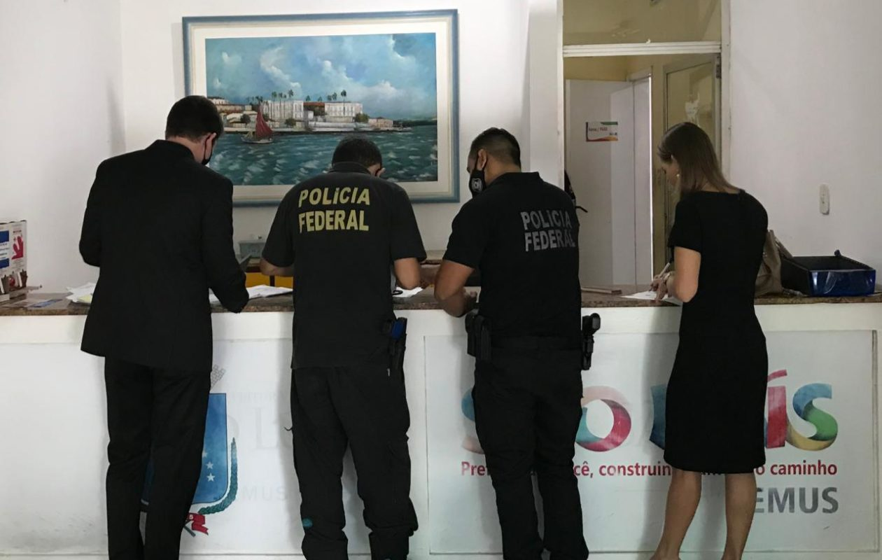 Nova fase da Cobiça Fatal, da PF, mira servidores da Semus de Edivaldo