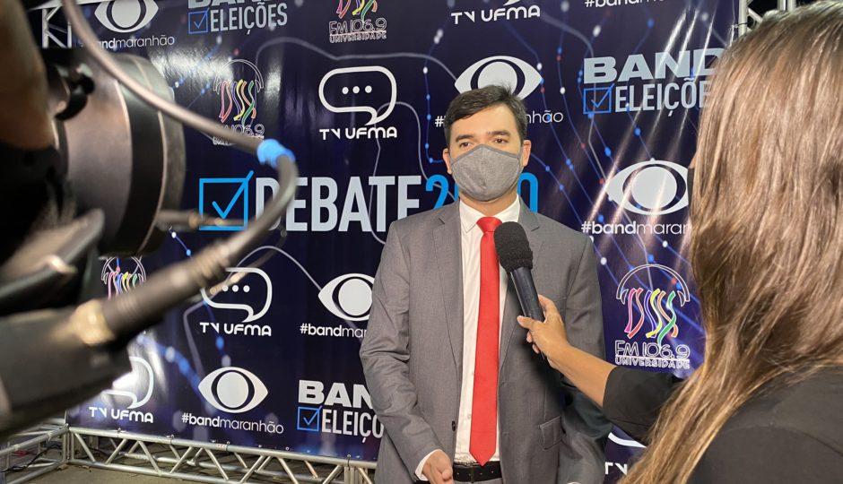 Rubens Júnior suspende agenda de campanha após sentir indisposição