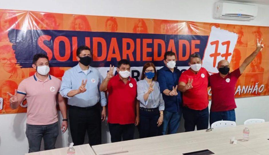 Com renúncias de Madeira e Adriano, Solidariedade vai com Rubens e PV com Braide