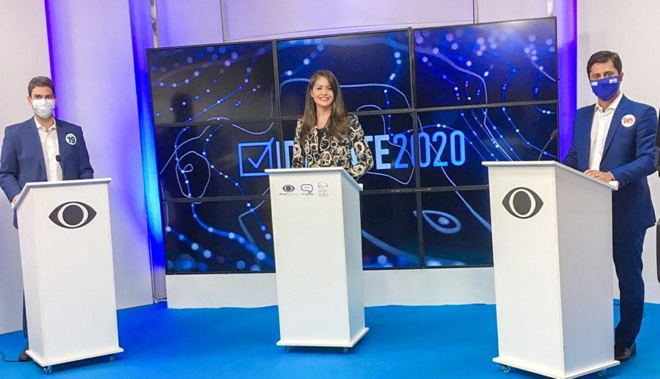 Braide assume proximidade com Bolsonaro em debate e sugere que Duarte é inimigo do presidente