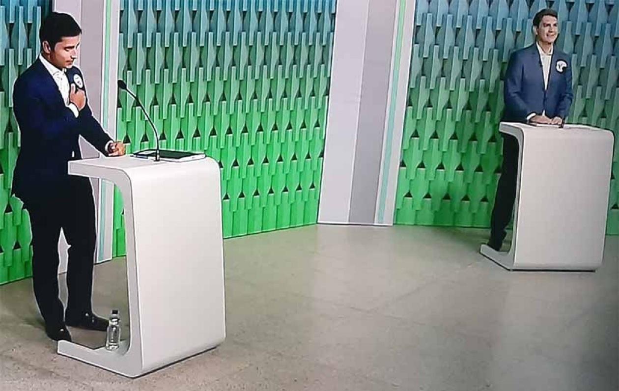 Duarte e Braide trocam acusações no último debate do segundo turno em São Luís