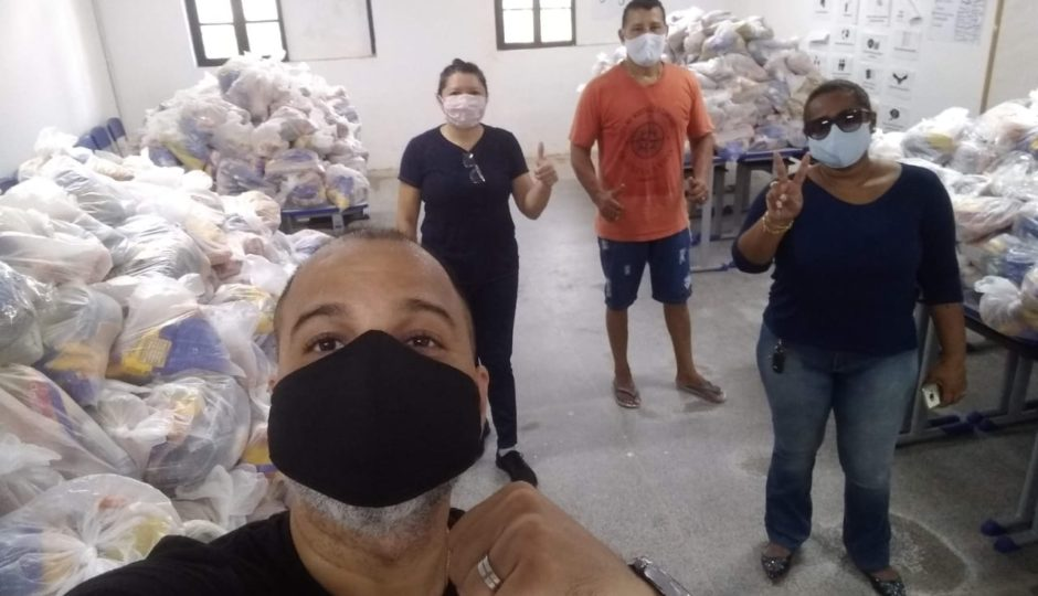 É enganoso afirmar que entrega de cestas básicas pela Seduc tem relação com as eleições em São Luís